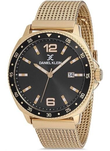 Daniel Klein Dk.1.12569.5 Erkek Kol Saati Sarı